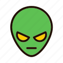 alien, astronomy, space, spaceship icon