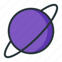astrology, galaxy, neptune, planet, space icon