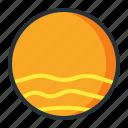 astronomy, globe, planet, space, venus icon