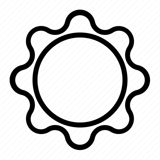 cloud, day, summer, sun, weather icon