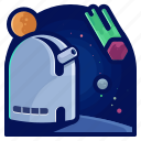 exploration, meteor, space, telescope, travel, view