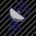 antenna, satellite, technology, dish, space