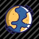 world, globe, earth, planet, space