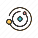 outer, planet, science, scifi, space icon