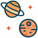 mars, planet, planets, saturn, space