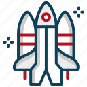 astronaut, rocket, shuttle, space, space shuttle, spacecraft