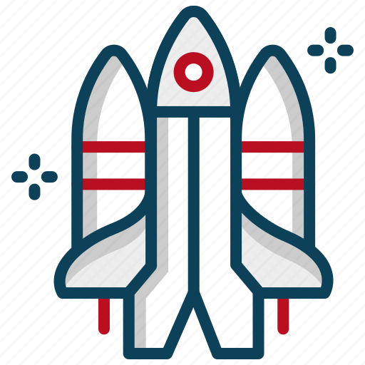 astronaut, rocket, shuttle, space, space shuttle, spacecraft icon