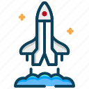 astronaut, launch, rocket, space, space shuttle, spacecraft