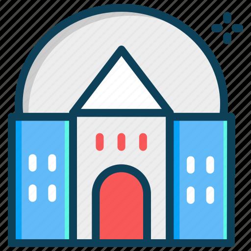 building, observatory, planetarium, space cemter icon