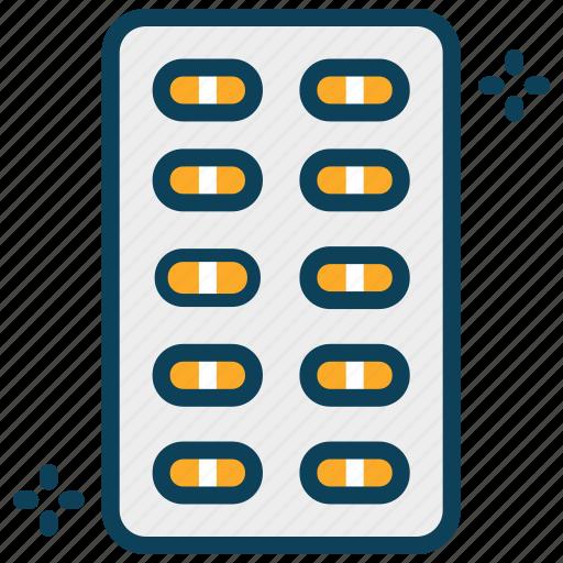 capsule, medicine, pills, tablet icon