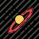 black hole, galaxy, nasa, planet, science, space, universe icon