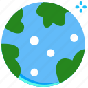 earth, globe, planet, science, space icon