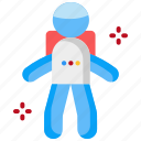 astronaut, cosmonaut, space, spaceman, suit icon