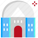 building, observatory, planetarium, space cemter icon