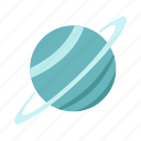 astronomy, planet, space, universe, uranus icon