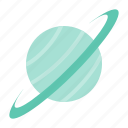 astronomy, planet, space, star, uranus icon