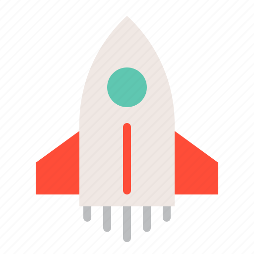 rocket, rocket shuttle, space, spaceship, vehicle icon