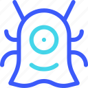 25px, alien, iconspace icon