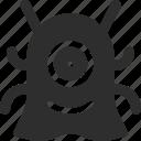 25px, alien, iconspace icon