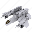 battle, cosmos, mashine, ship, space, war icon