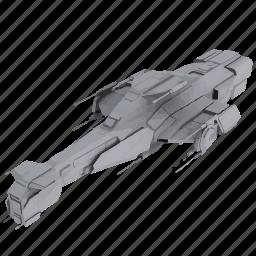mashine, model, ship, space, war icon