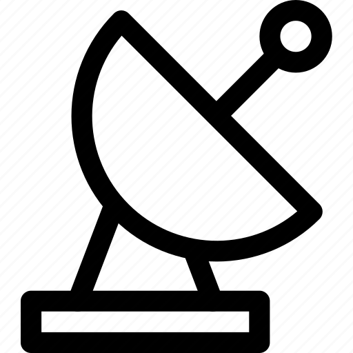 antenna, connection, dish, radar, satellite, signal icon