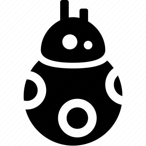 bb8, character, droid, movie, robot, star wars icon