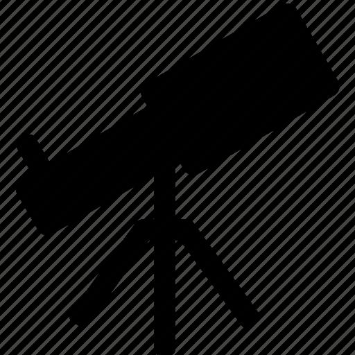 astronomy, space, spyglass, telescope, view, zoom icon