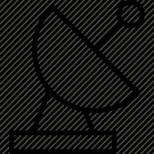 antenna, connection, dishradar, satellite, signal icon