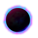 blackhole, eclipse, star, sun icon