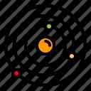 astronomy, orbit, space, spaceship icon