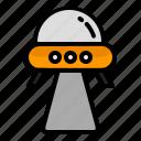 alien, rocket, space, startup, ufo