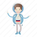 astronaut, astronomy, russia, spaceman