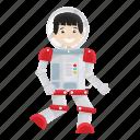 astronaut, boy, kid, spaceman, suit