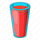 alcohol, cartoon, drawing, drink, glass, red, wine icon