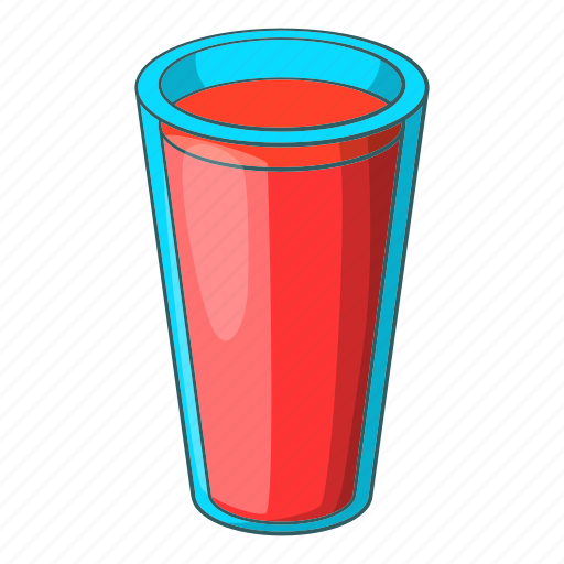 Alcohol, cartoon, drawing, drink, glass, red, wine icon - Download on Iconfinder