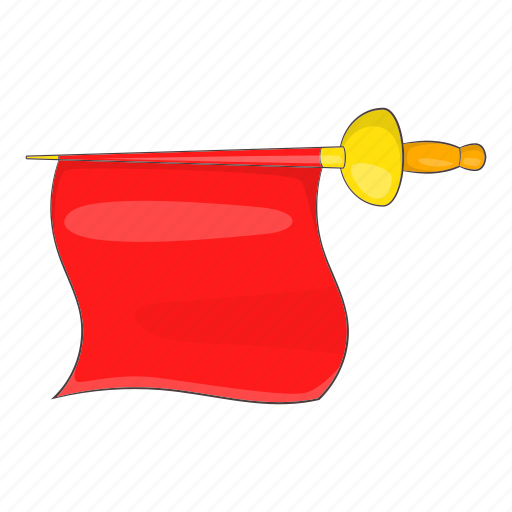 Arena, cartoon, corrida, fabric, matador, red, spain icon - Download on Iconfinder