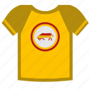 bright, espana, spain, tshirt, wear icon