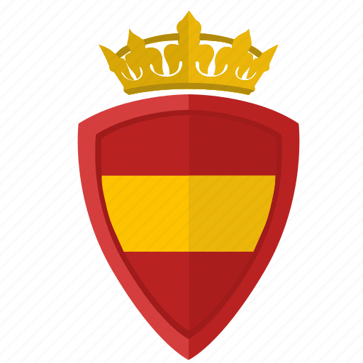 crown, espana, nation, shield, spain icon