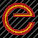 e, espana, flag, letter, national, spain icon