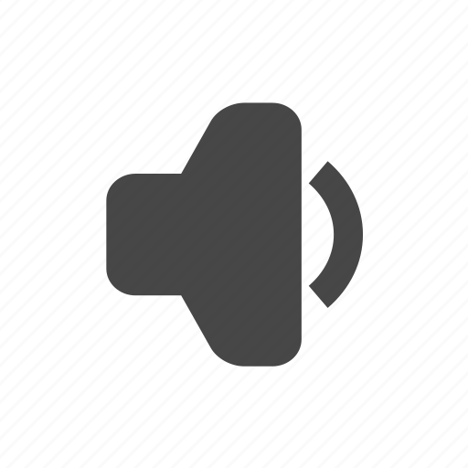 music, speaker, volume icon