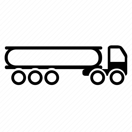 carrier, gas, shipping, transport, truck, vehicle, wheels icon