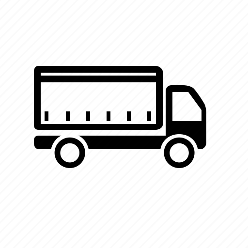 awning, curtainsided, delivery, shipping, transport, truck icon