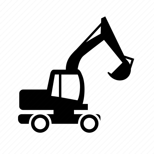 Building, excavator, special, vehicle icon - Download on Iconfinder