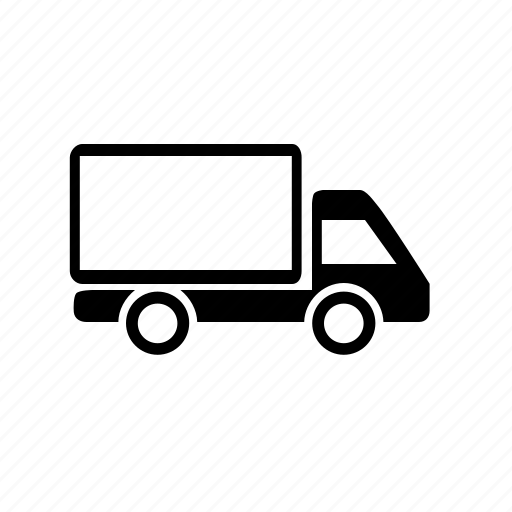 food, goods, transport, truck, van, vehicle, wheels icon