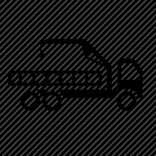 load, manipulator, transport, truck, vehicle, wheels icon