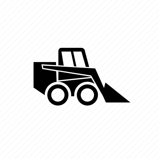 loader, mini, special, vehicle icon