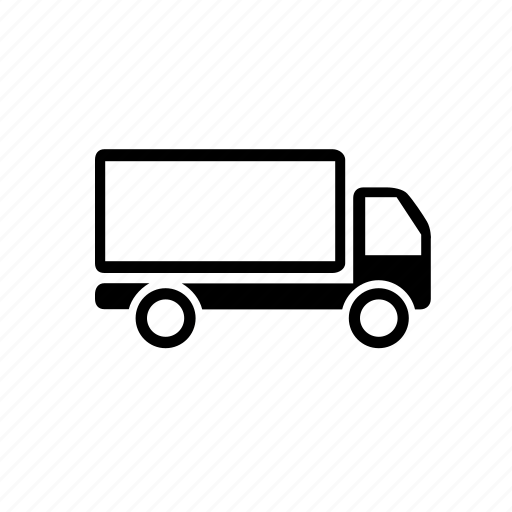 shipping, transport, truck, van, vehicle, wheels icon