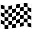 f1, finish, flag, formula one, racing, run, start icon