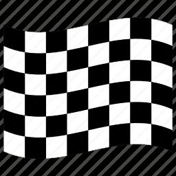 f1, finish, flag, formula one, racing, run, start icon